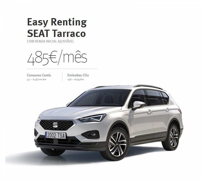 SEAT Tarraco - Easy Renting - 485€/mês