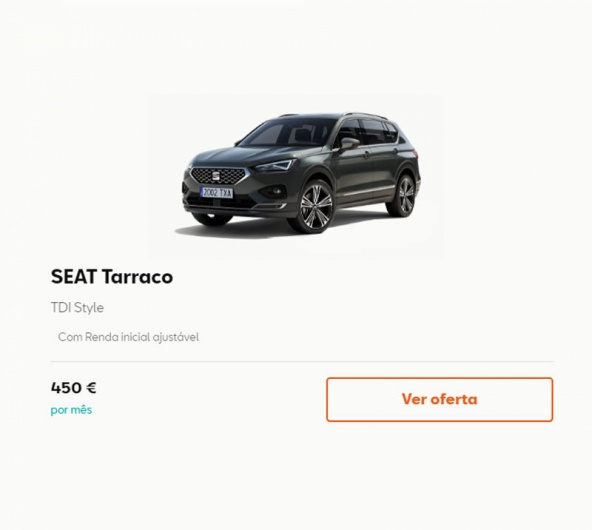 SEAT Tarraco - Easy Renting - 450€/mês