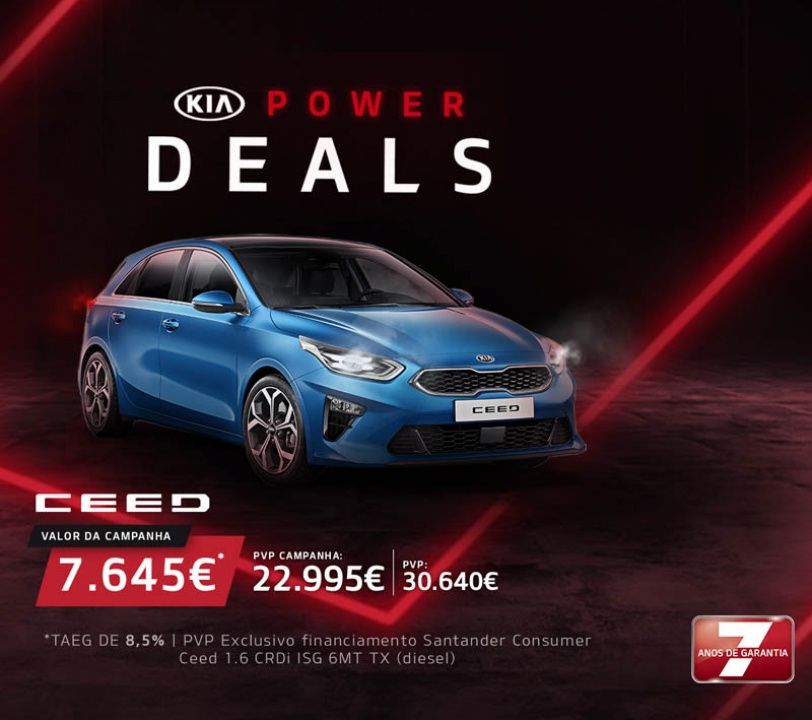 Kia Power Deals - Ceed