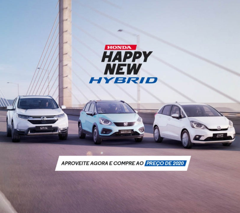 Honda Happy New Hybrid
